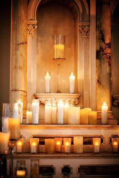 44 Ideas wedding ceremony altar table candles for 2019 Candle Lanterns, Candle Sconces, Unity Candle, Pillar Candles, Church Candles, Wedding Inspiration, Wedding Ideas, Wedding Decorations, Wedding Centerpieces