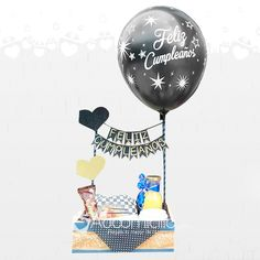 Birthday Hampers, Birthday Box, Birthday Gifts, Happy Birthday, New Project Ideas, Balloon Decorations Party, Candy Bouquet, Love Is Sweet, Happy Fathers Day