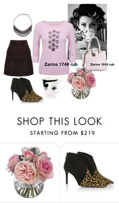 """""""Zarina style #12"""" by lailamur on Polyvore featuring Prim Rose, Diane James, Prada, women's clothing, women, female, woman, misses and juniors"""