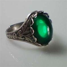 Anne Boleyn Emerald Ring