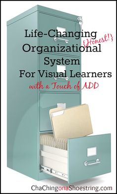My Life-changing Organizational System {for Visual Learners