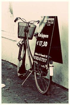 Bike in Gouda, NL.