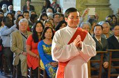 Thê Anh a été ordonné prêtre pour le diocèse de Pontoise le 29 juin 2014 par Mgr Stanislas Lalanne, évêque de Pontoise