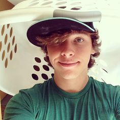 This awkward, brown haired, green eyed, random, funny guy, with an amazing voice....will be mine someday haha