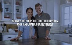 Show your support for Fixer Upper's Chip and Joanna Gaines. Believe it or not, the liberal media and militant homosexuals are now attacking HGTV stars Chip and Joanna Gaines simply because they attend a church that preaches the Gospel. Please click the link and sign the petition. ~@guntotingkafir GOD BLESS AMERICA AND GOD BLESS PRESIDENT TRUMP!!!