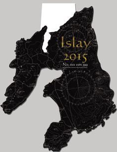 Islay - Contour Calendar 2015 · cover art · Size: 42 x 60 cm · limitiertierte to 399 copies edition · Wire-O bond at the head · available:  www.alba-collection.com