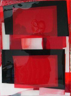 Stefan Annerel ~ Cunnungham, 2007 (acrylic, tape, resin)