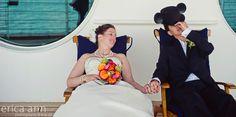 LOL so cute! Disney Cruise Wedding