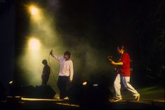 A photo of the Stone Roses Spike Island gig in 1990