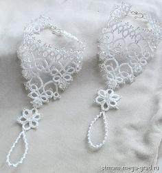Митенки для невесты - вязание и вышивка, плетение, дизайнерские перчатки, варежки и митенки. МегаГрад - город мастеров и художников