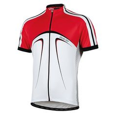 Short - sleeved cycling jersey Noname in red, by Bicycle Line Italy