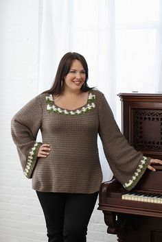 Ravelry: Verdant Pullover pattern by Mary Beth Temple
