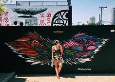 Graffiti Wall Art, Murals Street Art, Street Art Graffiti, Mural Art, Wall Murals, Angel Wings Wall Art, Collaborative Art Projects, Abstract Canvas Art, Creative Photography