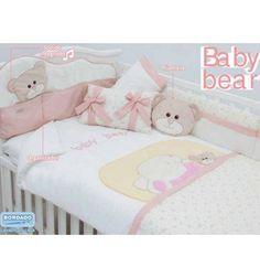 Set de Edredón para Cuna Baby Bear Chiquimundo - Compra Online en Bebeshop.mx - Envío Gratis