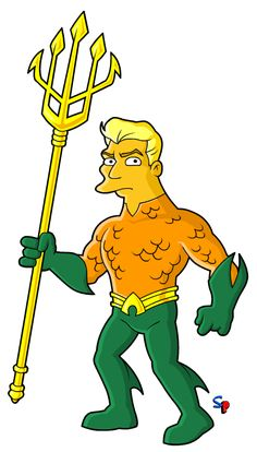 Springfield Punx Aquaman New 52