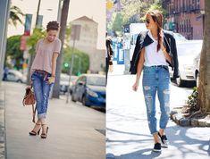 Boyfriend jeans: 40 idee abbinamenti sexy e femminili!