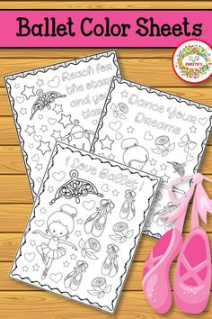 Use these coloring sheets for recital gifts or in your dance studio! #recitalgifts #balletrecital #dancerecital #recital #ballet #coloringsheets Dance Recital, Dance Studio, Coloring Sheets, Ballet, Learning, Colouring Sheets, Studying, Teaching, Ballet Dance