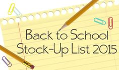 We'll show you how to save on back-to-school items now on TheKrazyCouponLady.com!