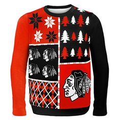 KLEW NHL Chicago Blackhawks Busy Block Ugly Sweater, Medium, Black Forever Collectibles http://www.amazon.com/dp/B00KNAND06/ref=cm_sw_r_pi_dp_XibDwb1K8SPQT