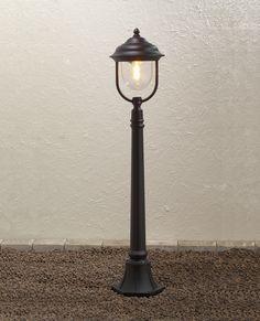 Staande lamp Parma Mezzani zwart klassieke buitenlamp7225-750