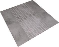 A unique Bamboo design engraved into Sea grey semi polished porcelain tiles