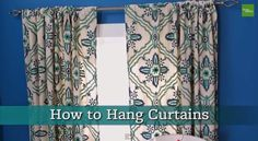Curtain Ideas: How to hang curtain rods on plaster walls #how to hang curtains around bed#how to hang curtains across a room#how to hang curtains and valance#how to hang curtains and drapes#how to hang curtains around a bay window#how to hang curtains apartment therapy#how to hang curtains and rods#how to hang curtains at a bay window#how to hang curtains above blinds#how to hang curtains above window