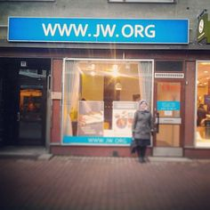 JW store front in Finland. Nothing is sold here but the public can stop by to see videos, pick up literature, ask questions, etc. Photo shared by @ron.nie93