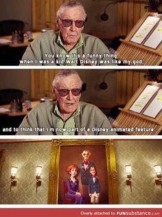 Stan Lee, everybody.