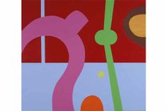 JOOST DE JONGE - FORM OF THE INFINITE - ACRYLIC AND OIL ON CANVAS - 49 X 55 INCHES - 2007 | Bill Lowe Gallery Infinite, Lowes, Oil On Canvas, Symbols, Letters, Gallery, Artist, Infinity, Infinity Symbol