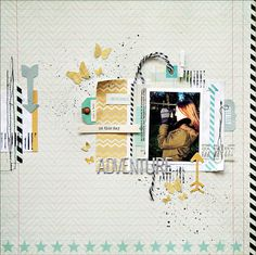 ScrapFriends - All about Scrapbooking: Monthly Sketch Inspiration #10