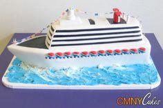 Luxury Cruise Ship Cake - CMNY Cakes
