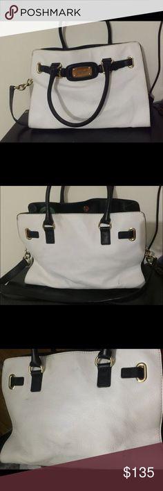 Michael kors bag Used large black and white Michael kors bag Michael Kors Bags Satchels