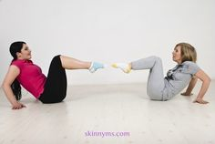 Get rid of the Post-Baby Weight Gain with this #workout and see results.