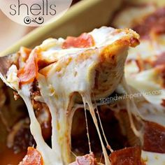 Pizza Stuffed Shells Recipe - Spend With Pennies & ZipList