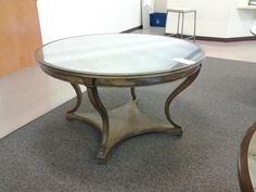Century Center Table w/ mirror top