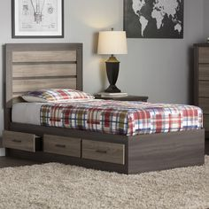 Found it at Wayfair - Lawson Twin Captain Footboard with Drawers