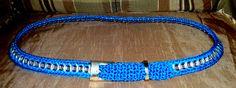 cinturon crochet y anillas