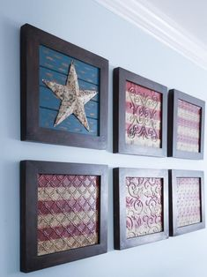 A Classic Americana Beach House Renovation – Home Renovation Patriotic Bedroom, Americana Bedroom, Fourth Of July Decor, 4th Of July Decorations, July 4th, December 26, Patriotic Crafts, Americana Crafts, Coastal Living Rooms