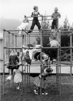 Use to play on these and when they weren't around, climbed trees!