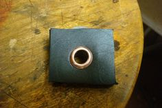 Copper eyelets for leather working - DIY