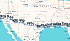 The best places to see, eat, and sleep on an I-10 road trip - Posted on Roadtrippers.com! Road Trip Map, Road Trip Food, Road Trip Hacks, Road Trip Adventure, Places To See, Places To Travel, Motorcycle Travel, Road Trippers, Vacation Trips