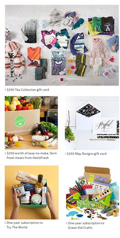Green Kid Crafts has teamed up with Tea Collection, Try the World, HelloFresh, and May Designs for a Holiday Giveaway for the whole family! Enter here to win hundreds of dollars in prizes >> http://ow.ly/UFGuA