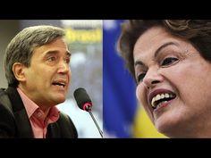 Jornalista perde o controle e exige cadeia para Dilma ao saber que ela t...