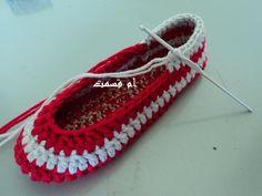 crochet ballerinas
