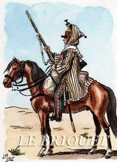 18th Dragoon in Egypt Dragone del 18 rgt. dragoni francesi