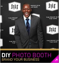 Do It Yourself Photo Booth Backdrops