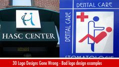 30 Logo Designs Gone Wrong - Bad Logo Design examples for your inspiration. Read full article: http://webneel.com/30-logo-designs-gone-wrong-bad-logo-design-examples-your-inspiration | more http://webneel.com/logo-design | Follow us www.pinterest.com/webneel