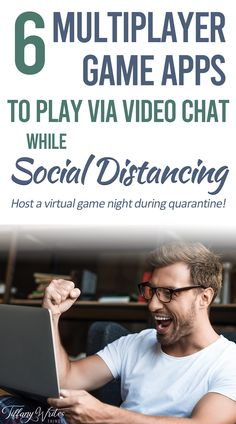 6 Awesome Game Apps to Play Games with Friends via Video Chat During the Quarantine — Tiffany Writes Things Virtual Family Games, Virtual Families, Video Chat, Video X, Wii Games, Games To Play, Star Citizen, Online Video Games, Couple Games