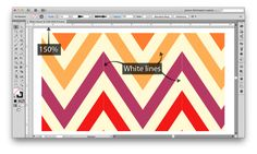 How to get rid of white lines in repeating pattern swatches in Illustrator; find out if the pattern is made correctly, and if it is, learn how to hide the lines Adobe Illustrator Tutorials, Photoshop Illustrator, Adobe Photoshop, Fashion Design Jobs, Tech Pack, Pattern Illustration, Repeating Patterns, Textile Patterns, Pattern Making