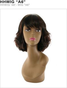 """Unique's 100% Human Hair Full Wig / Style """"""""A6"""""""""""